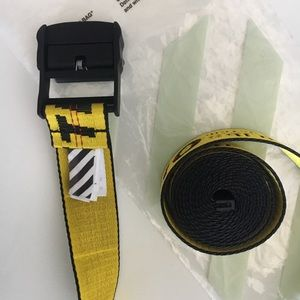 Off-White Accessories - Authentic Off-White industrial belt